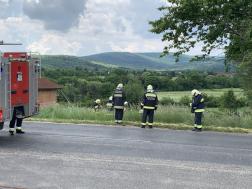 Gázcsonkot vágott el munkagép Kőszegszerdahelyen