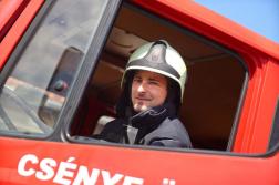 Bemutatkozik Csénye Község Önkéntes Tűzoltó Egyesülete