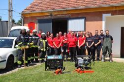 Bemutatkozik Sorkifalud-Gyanógeregye Községek Önkéntes Tűzoltó Egyesülete