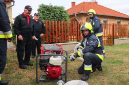 Bemutatkozik a Rábahídvégi Önkéntes Tűzoltó Egyesület