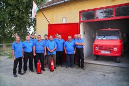 Bemutatkozik a Püspökmolnári Önkéntes Tűzoltó Egyesület