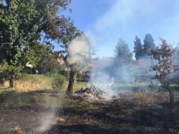 Sárvár szabadtéri tűzeset