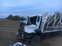 Kamion balesete Vasszécsenynél