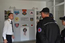 Hargita megyei tűzoltók látogatása Vas megyében
