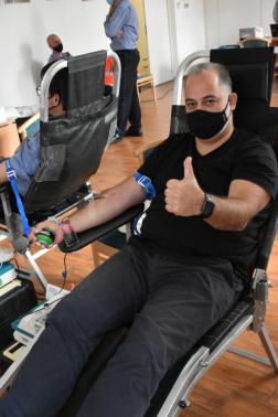 Természeti Katasztrófavák Csökkentésének Világnapja alkalmából adtak vért az igazgatóságon